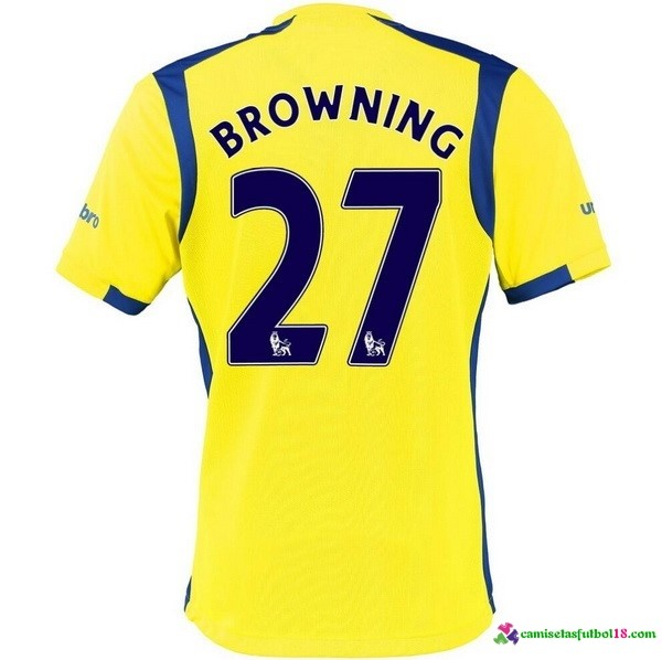 Browning Camiseta 3ª Kit Everton 2016 2017