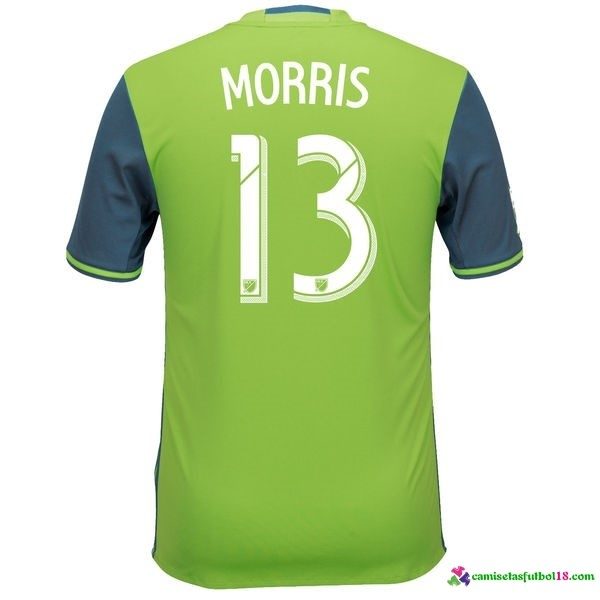 Morris Camiseta 1ª Kit Seattle Sounders 2016 2017