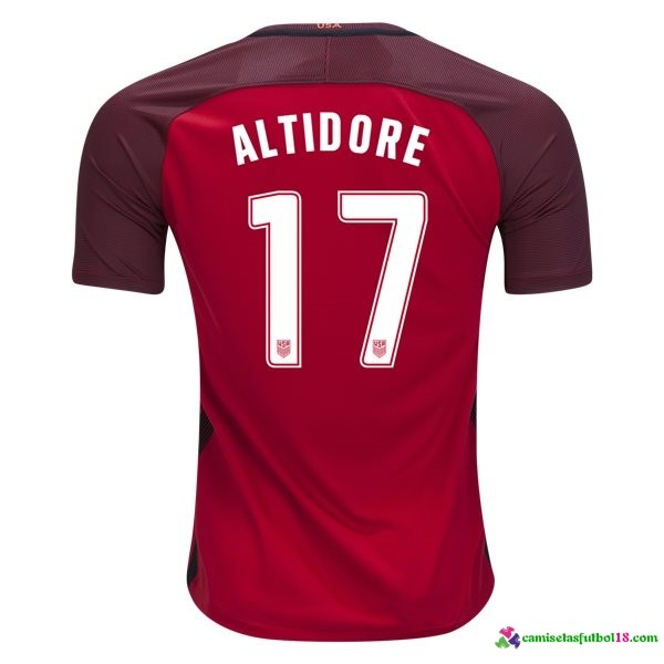 Altidore Camiseta 3ª Kit Estados Unidos 2017