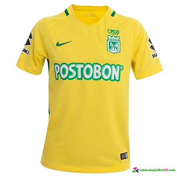 Camiseta 2ª Kit Atletico Nacional 2017 2018