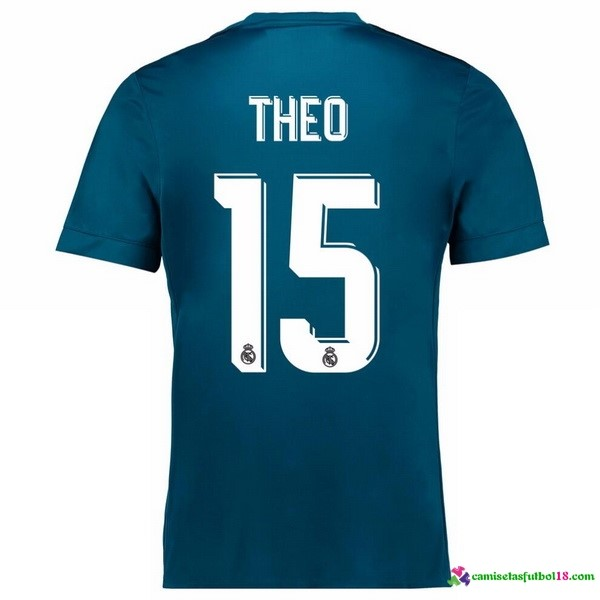 Theo Camiseta 3ª Kit Real Madrid 2017 2018