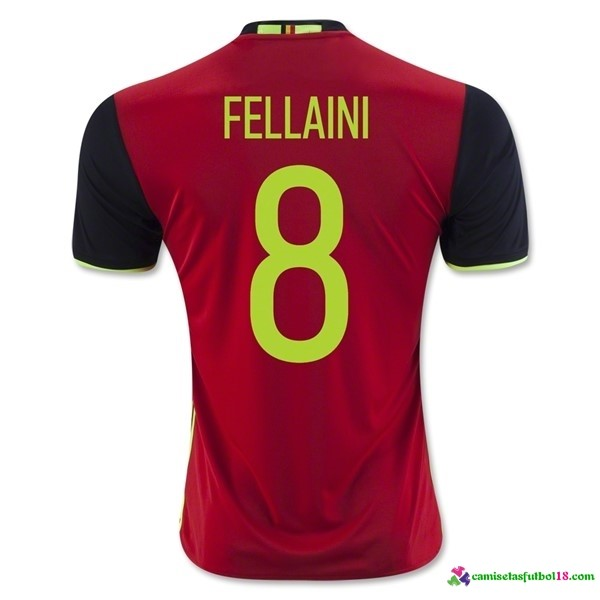 Fellaini Camiseta 1ª Kit Belgica 2016