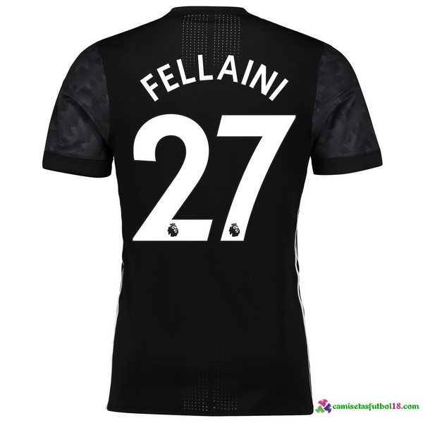 Fellaini Camiseta 2ª Kit Manchester United 2017 2018