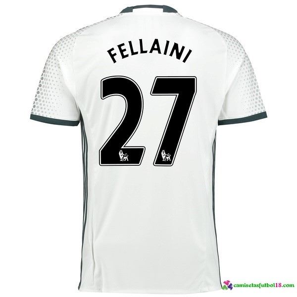 Fellaini Camiseta 3ª Kit Manchester United 2016 2017