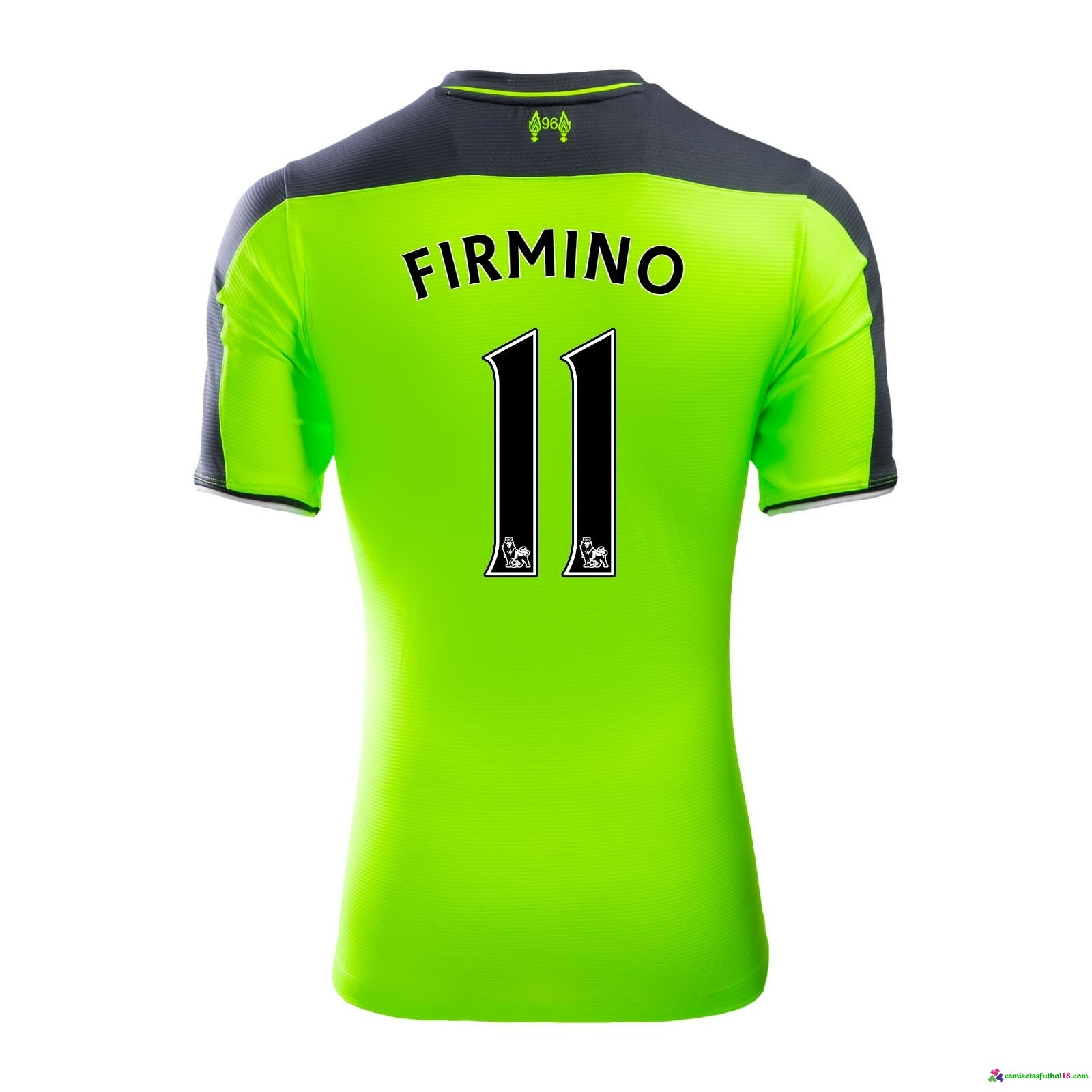 Firmino Camiseta 3ª Kit Liverpool 2016 2017