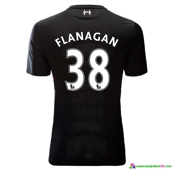 Flanagan Camiseta 2ª Kit Liverpool 2016 2017