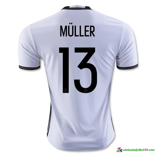 Muller Camiseta 1ª Kit Alemania 2016