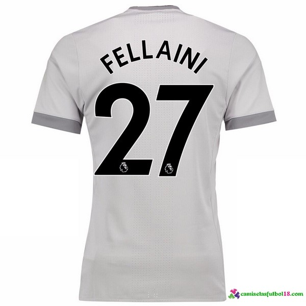 Fellaini Camiseta 3ª Kit Manchester United 2017 2018