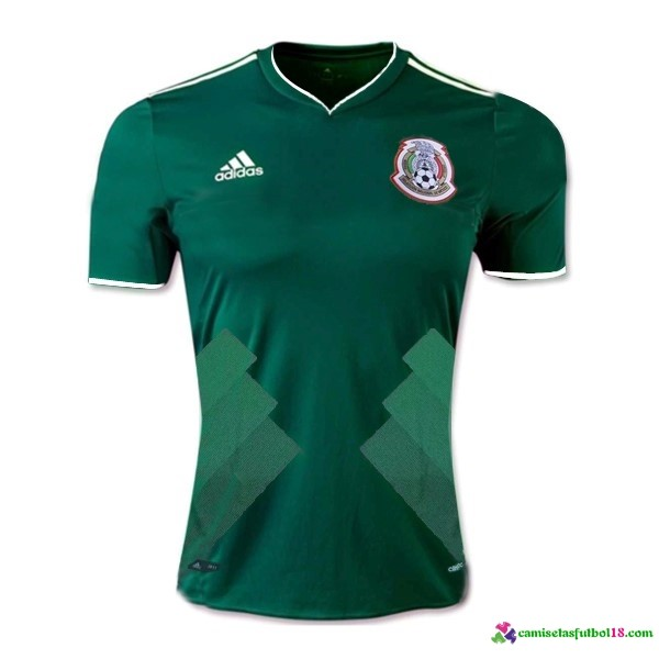 Camiseta 1ª Kit Mexico 2017