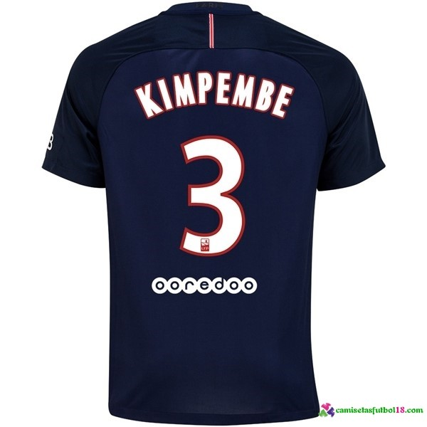 Kimpembe Camiseta 1ª Kit Paris Saint Germain 2016 2017