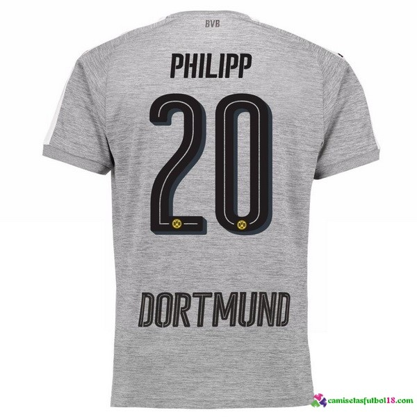 Phillipp Camiseta 3ª Kit Borussia Dortmund 2017 2018