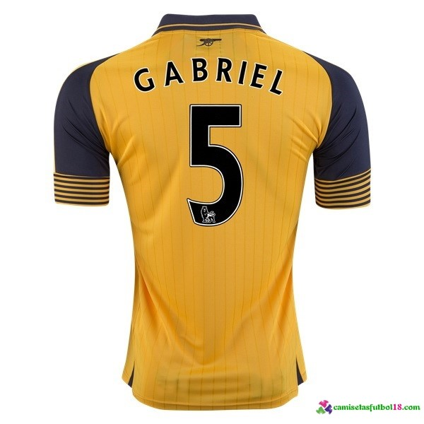 Gabriel Camiseta 2ª Kit Arsenal 2016 2017