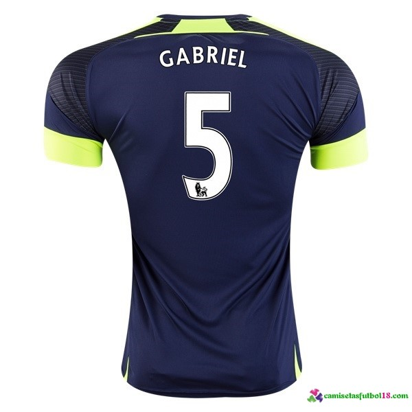 Gabriel Camiseta 3ª Kit Arsenal 2016 2017