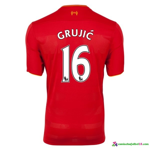 Grujic Camiseta 1ª Kit Liverpool 2016 2017