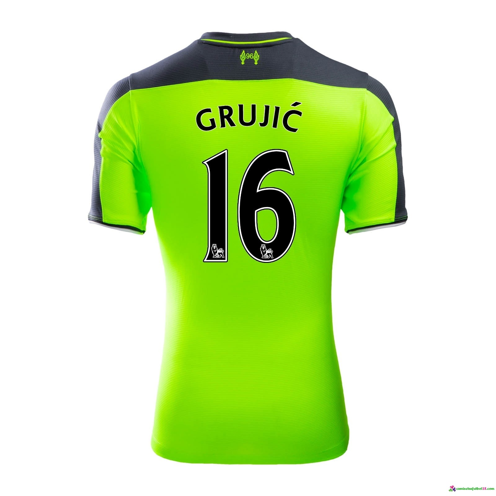 Grujic Camiseta 3ª Kit Liverpool 2016 2017