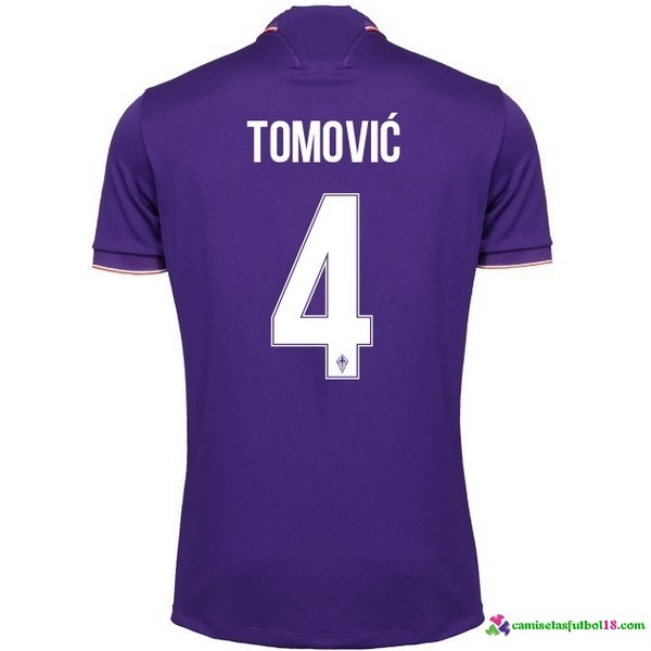 Tomovic Camiseta 1ª Kit Fiorentina 2016 2017