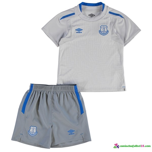 Camiseta 2ª Kit Niño Everton 2017 2018