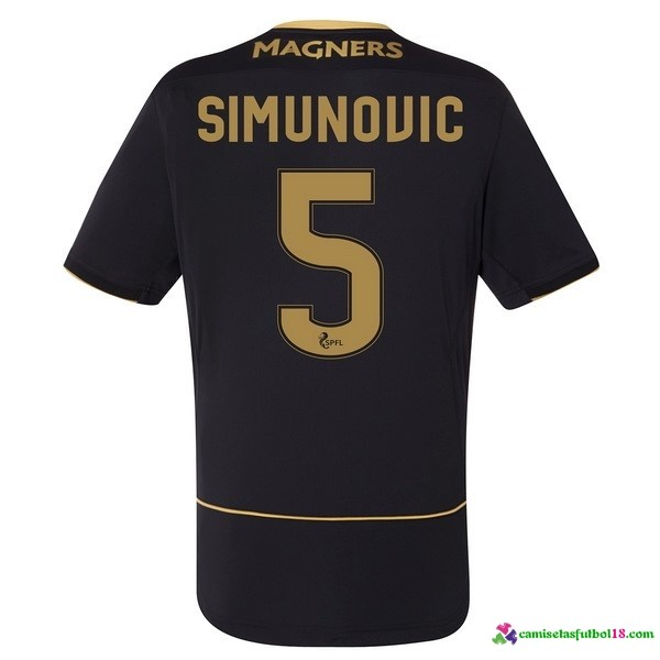 Simunouic Camiseta 2ª Kit Celtic 2016 2017