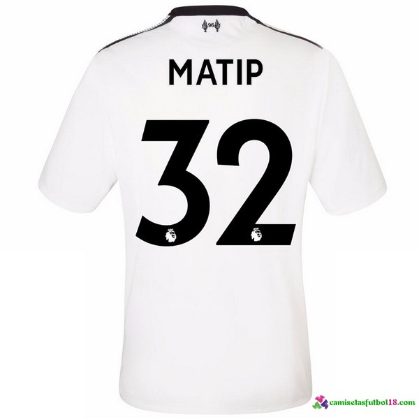 Matip Camiseta 2ª Kit Liverpool 2017 2018