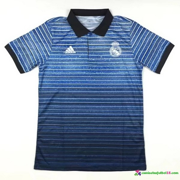 Polo Del Real Madrid 2017 2018 Azul Negro