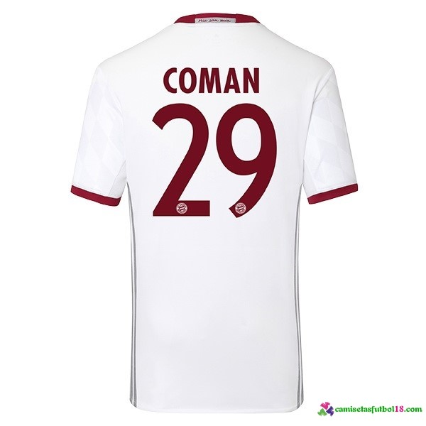 Coman Camiseta 3ª Kit Bayern Munich 2016 2017