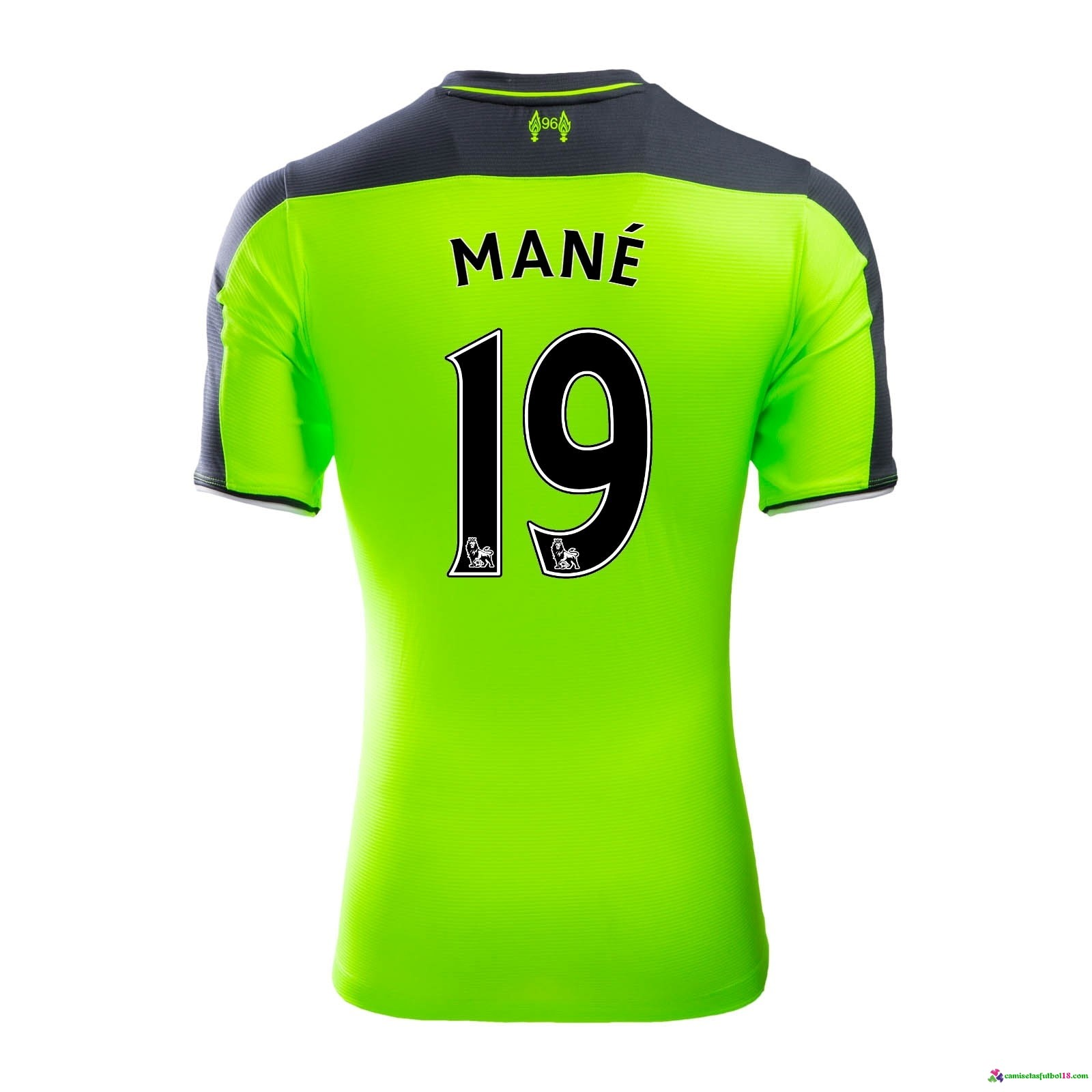 Mane Camiseta 3ª Kit Liverpool 2016 2017
