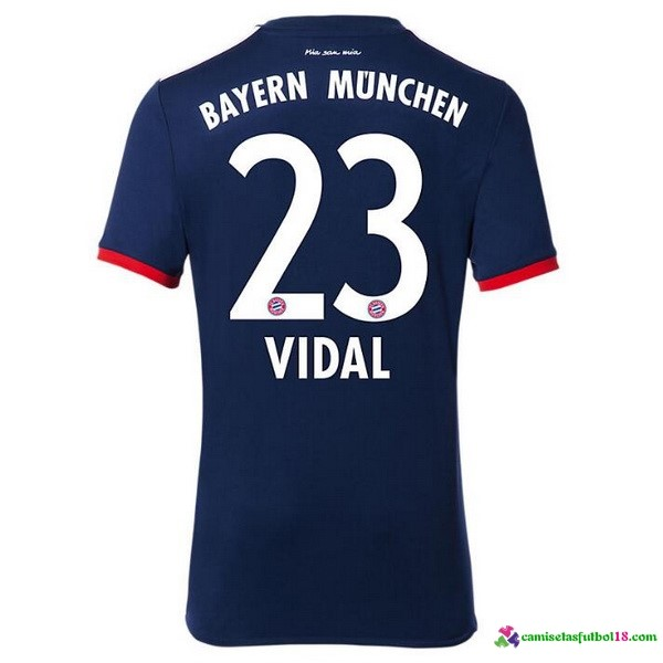 Vidal Camiseta 2ª Kit Bayern Munich 2017 2018