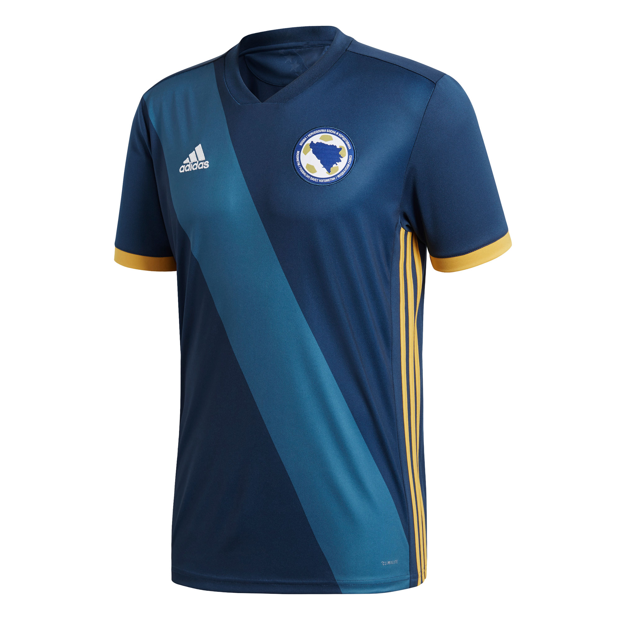 Camiseta 1ª Kit Bosnia Herzegovina 2018