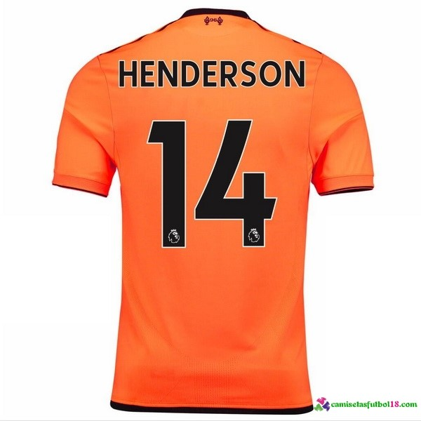Henderson Camiseta 3ª Kit Liverpool 2017 2018