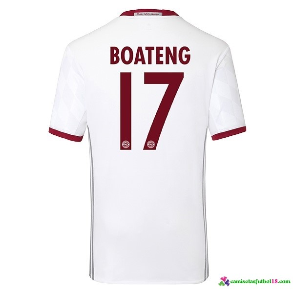 Boateng Camiseta 3ª Kit Bayern Munich 2016 2017