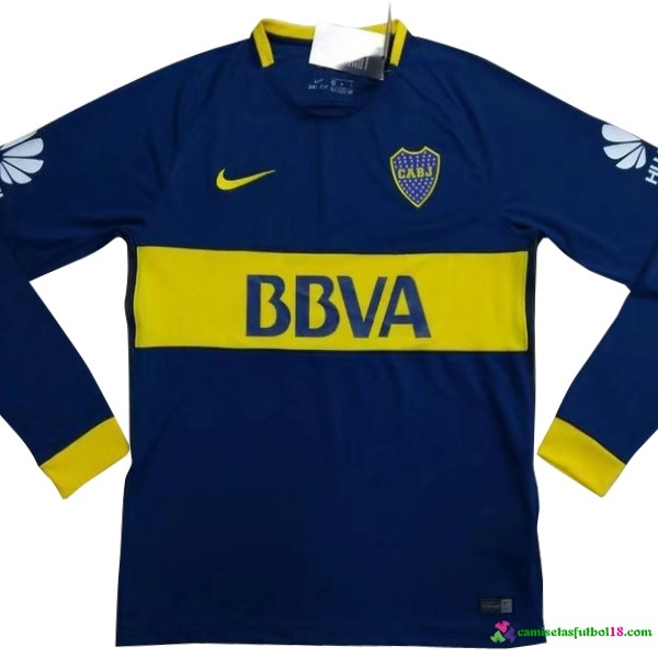 Tailandia Camiseta 1ª Kit ML Boca Juniors 2017 2018