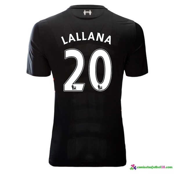 Lallana Camiseta 2ª Kit Liverpool 2016 2017