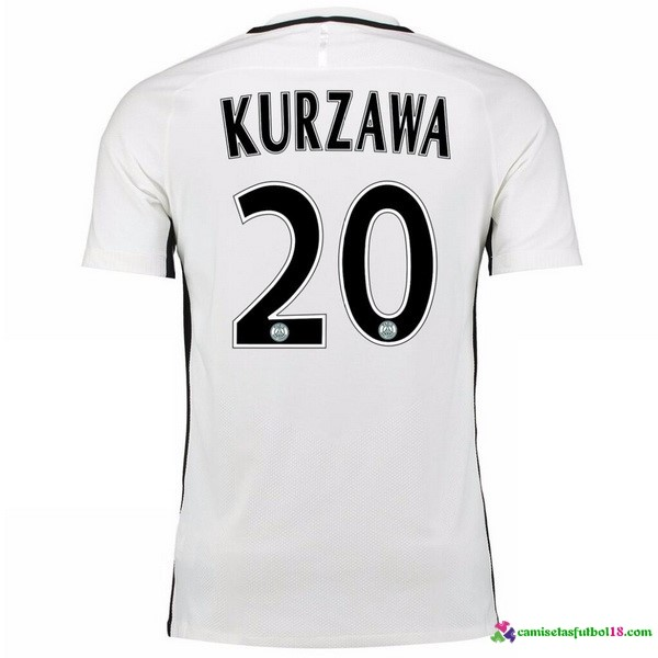 Kurzawa Camiseta 3ª Kit Paris Saint Germain 2016 2017