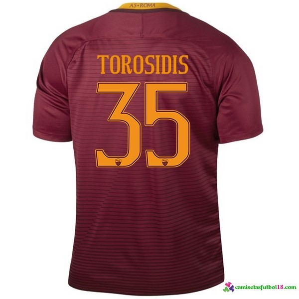 Torosidis Camiseta 1ª Kit As Roma 2016 2017