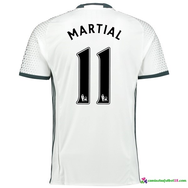 Martial Camiseta 3ª Kit Manchester United 2016 2017