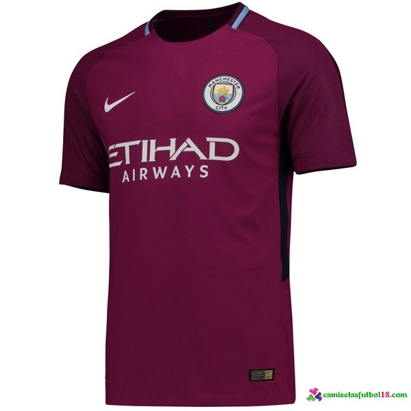 Tailandia Camiseta 2ª Kit Manchester City 2017 2018