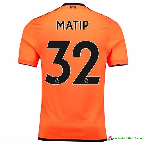 Matip Camiseta 3ª Kit Liverpool 2017 2018