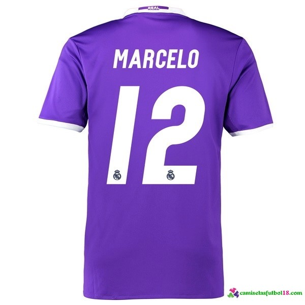 Marcelo Camiseta 2ª Kit Real Madrid 2016 2017