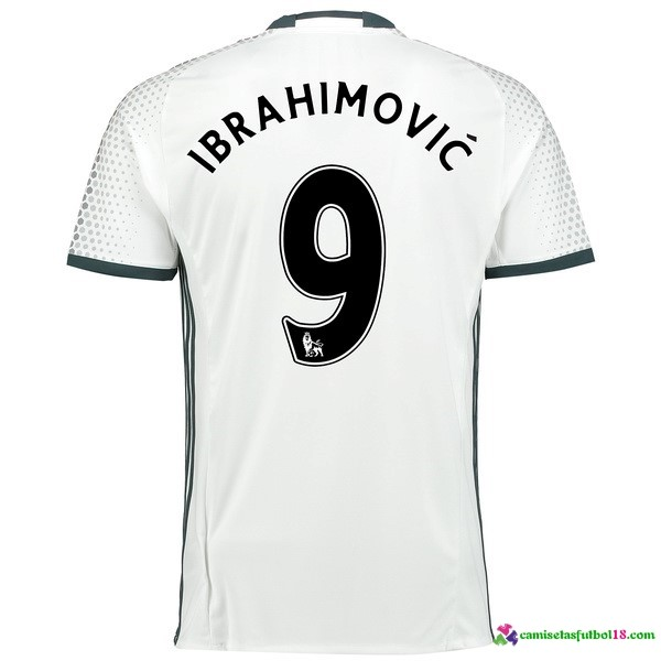 Ibrahimovic Camiseta 3ª Kit Manchester United 2016 2017