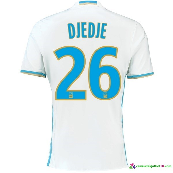 Djedje Camiseta 1ª Kit Marsella 2016 2017
