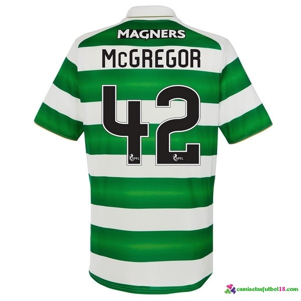 McGregor Camiseta 1ª Kit Celtic 2016 2017
