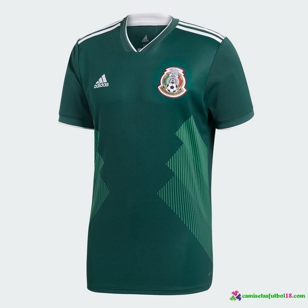 Tailandia Camiseta 1ª Kit Mexico 2018
