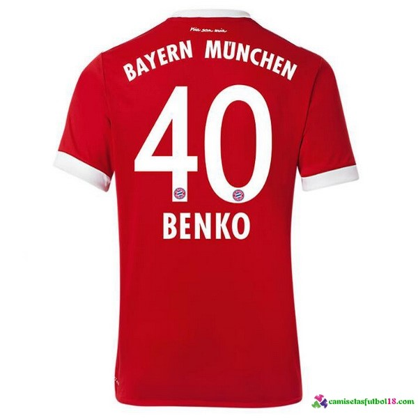 Benko Camiseta 1ª Kit Bayern Munich 2017 2018