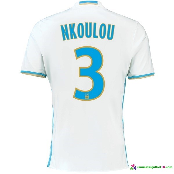 Nkoulou Camiseta 1ª Kit Marsella 2016 2017