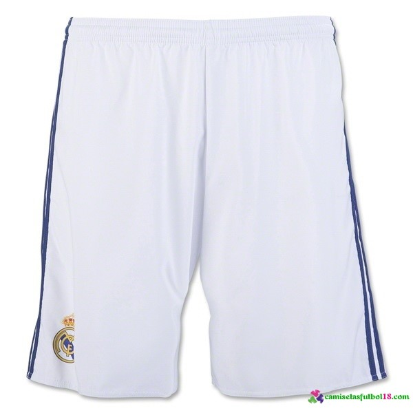 Tailandia Pantalones 1ª Kit Real Madrid 2016 2017