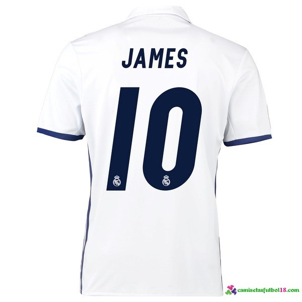 James Camiseta 1ª Kit Real Madrid 2016 2017