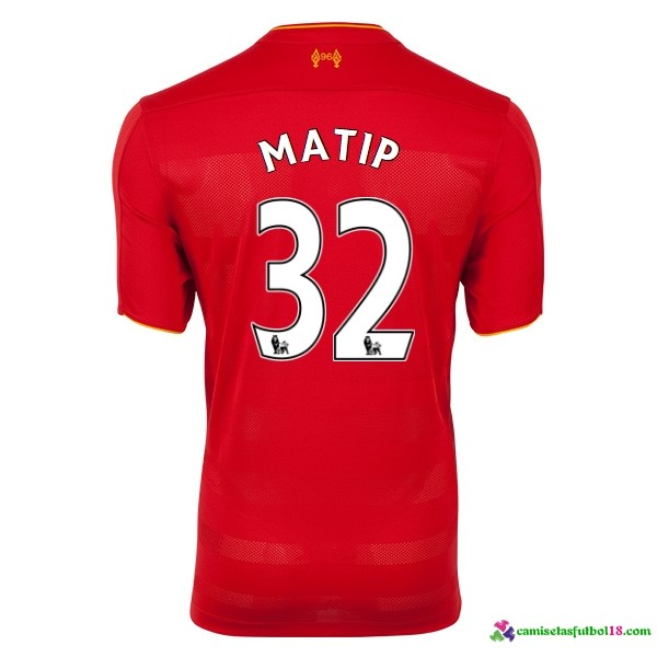 Matip Camiseta 1ª Kit Liverpool 2016 2017