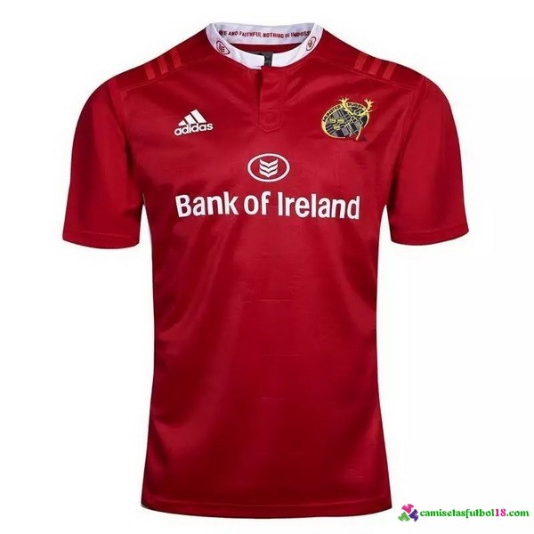 Rojo Camiseta Rugby Manchester City 2016 2017