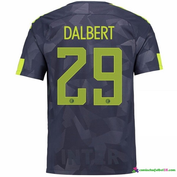 Dalbert Camiseta 3ª Kit Inter Milan 2017 2018