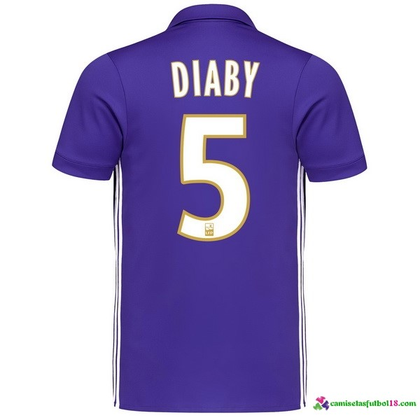 Diaby Camiseta 3ª Kit Marsella 2017 2018